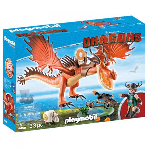Playmobil DreamWorks Los dragones Snotlout y Hookfang