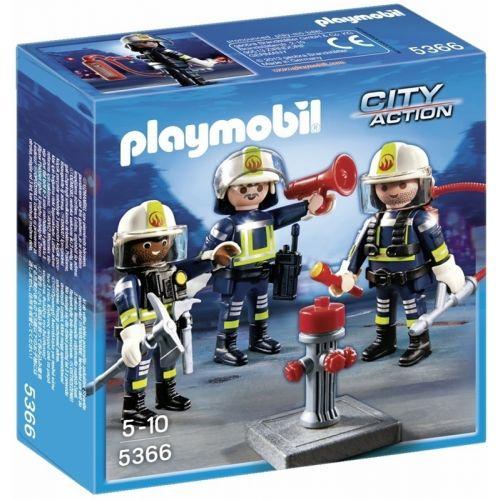 Playmobil Equipo Rescate de Bomberos