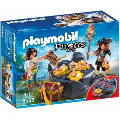 Playmobil Escondite del Tesoro con Piratas