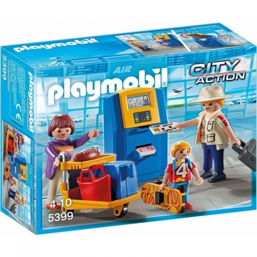 Playmobil Familia en el Check In