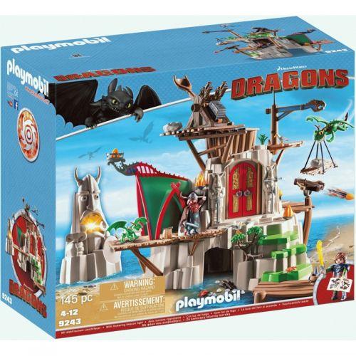Playmobil Isla de Dragones Berk con Cañones de fuego