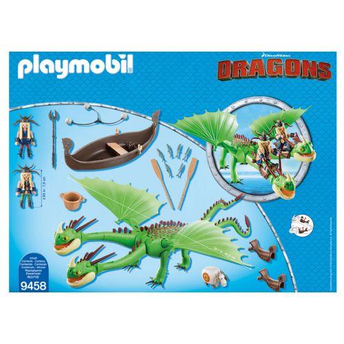 Playmobil Ruffnut y Tuffnut en la Isla Berk