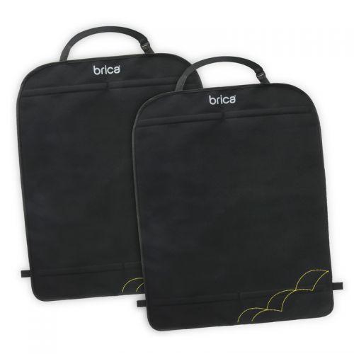 Protectores para asiento de coche Brica - 2 unidades, color Negro