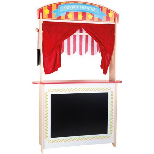 Puesto de venta y teatro de marionetas , 2 en 1