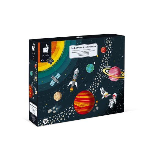 Puzle educativo Sistema Solar , Janod