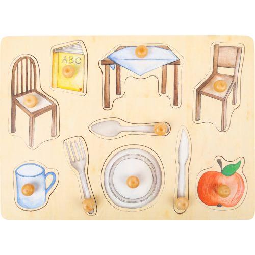 Puzzle de madera objetos cotidianos - 12 años y +