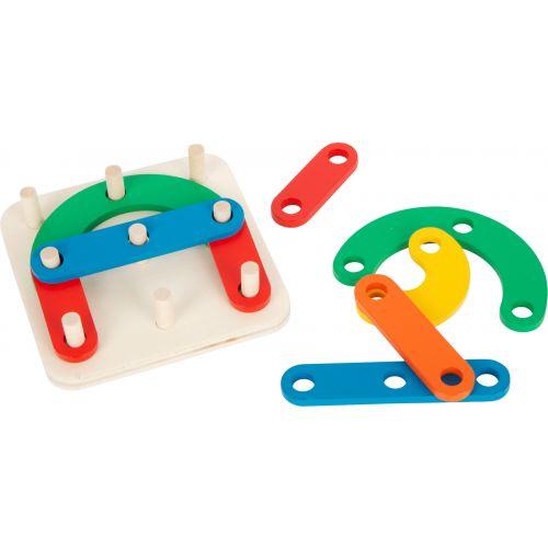 Puzzle educativo de madera Letras y Números