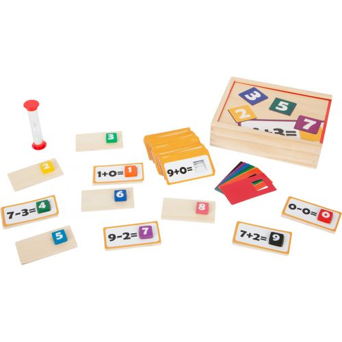 Puzzle educativo de madera Matemáticas