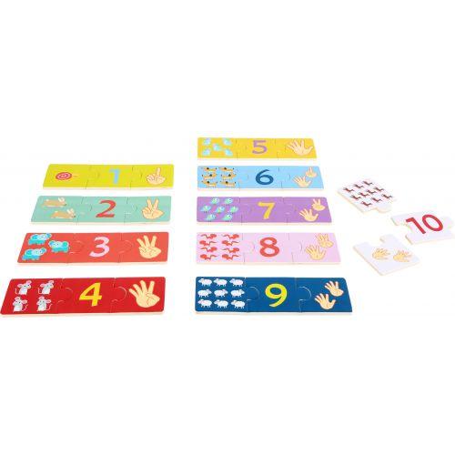 Puzzle educativo Números - A partir de 3 años