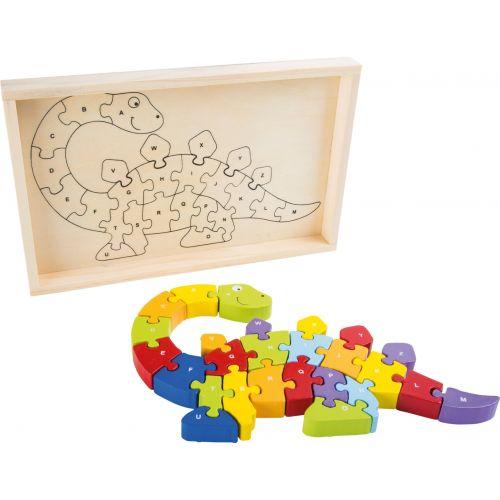 Puzzle de madera Abecedario - Dinosaurio