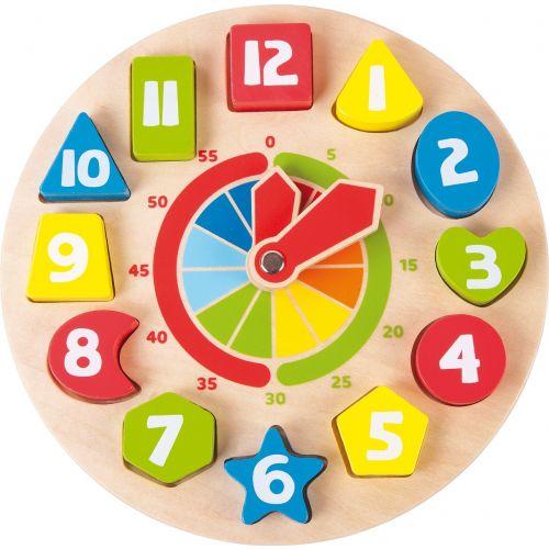 Reloj de Aprendizaje Formas