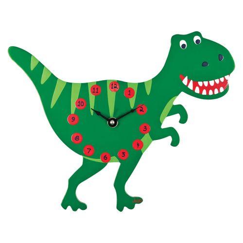 Reloj de Pared Infantil Dinosaurio