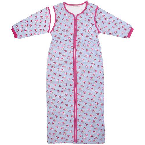 Saco Dormir Niños hasta 4 Años. 3,5 Tog estampado rosas