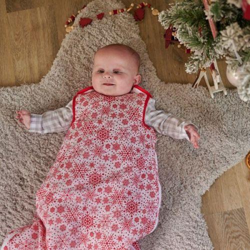 Saco de dormir para Bebé Copos de Nieve , 0 a 6 meses , 2 Togs