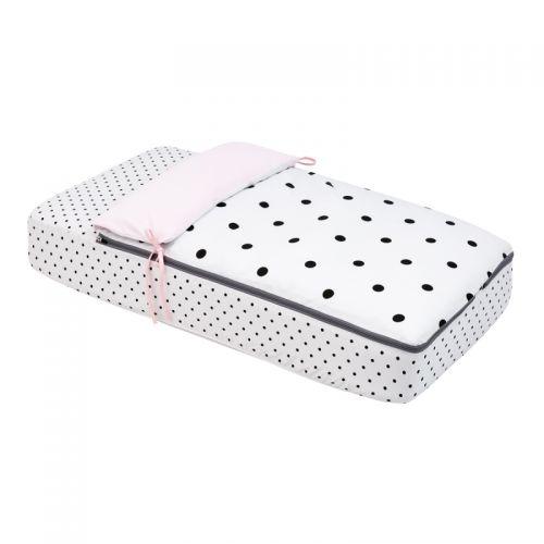 Saco de cuna 60 x 120 cm Dots Rosas - Cambrass