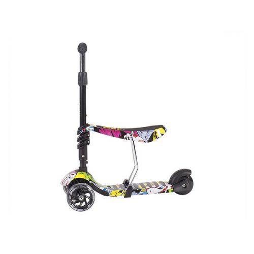 Scooter 3 en 1 Ride and Skate - Kikkaboo