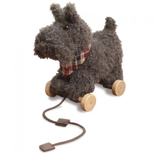 Perrito Scottie con Ruedas y Cuerda