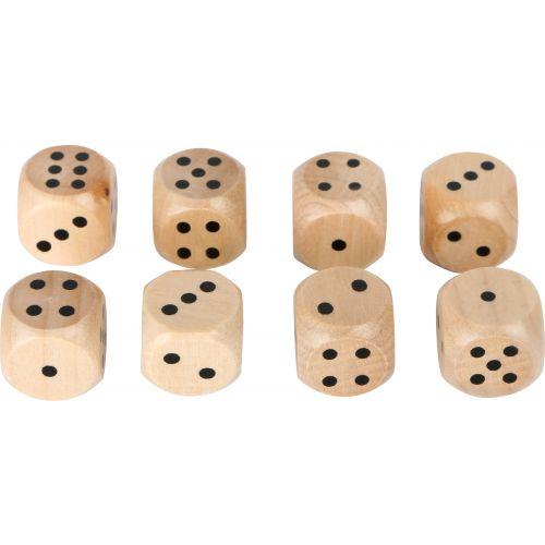 Set de 8 Dados de madera