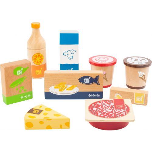 Set de alimentos para la nevera Fresh , 9 piezas