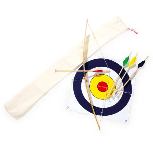 Set de Arquero , incluye 4 flechas