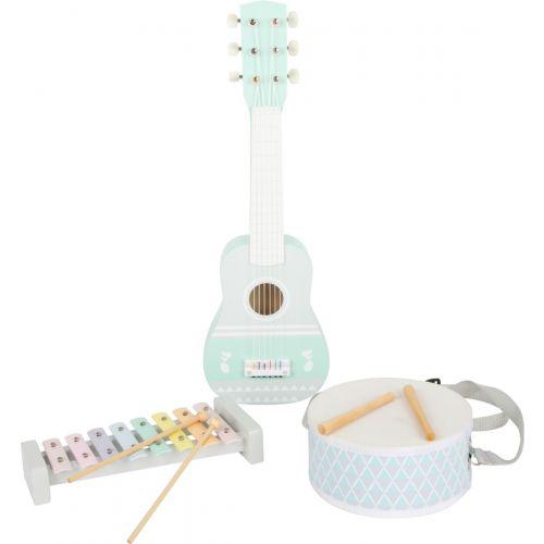Set de música Pastel - Guitarra, xilófono y tambor