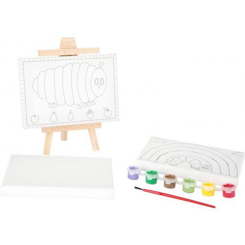 Set de Pintura la Oruga Glotona - a partir de 4 años