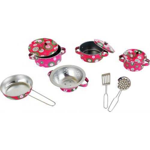 Set de utensilios de juguete para cocina infantil Lucía , 10 piezas