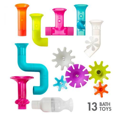 Set de 13 juguetes de baño Boon