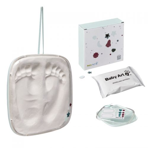 Set de Modelado Pies del Bebé color Crystalline - Baby Art