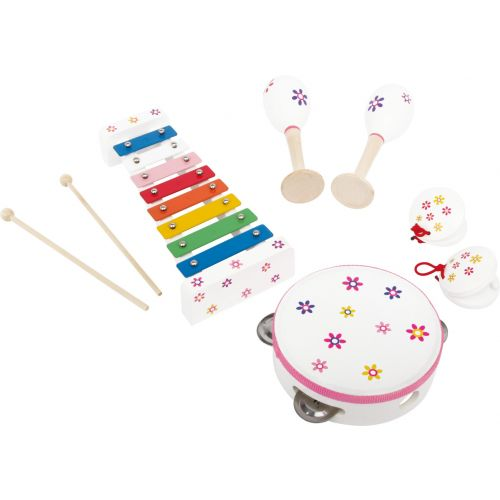 Set musical Flor - 4 instrumentos