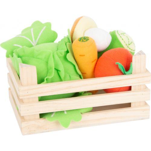 Set de verduras en tela con caja