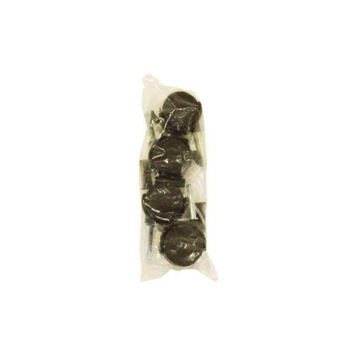 Ruedas de Plástico 40mm para Cuna - 4 unidades