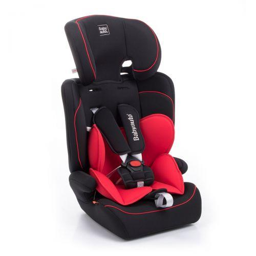 Silla de coche Primus Grupo 1/2/3 Babyauto color rojo y negro