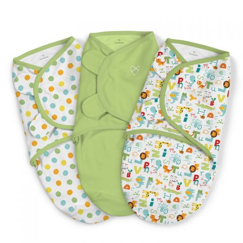 Swaddle Abc Alfabeto 3 Unidades - Summer Infant