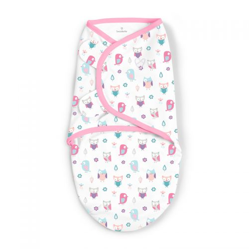 Swaddle Pajaritos Rosas - Summer Infant