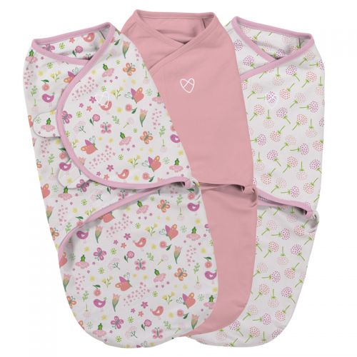 Swaddle Secret Garden 3 Unidades - Summer Infant