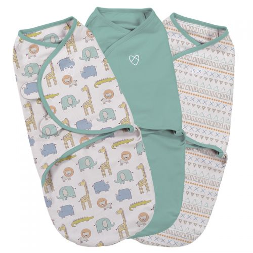 Swaddle Sketchy Safari 3 Unidades - Summer Infant