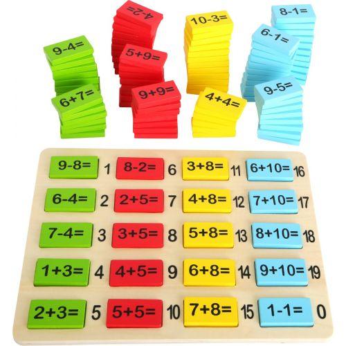 Tablitas para calcular con Diversión - A partir de 3 años