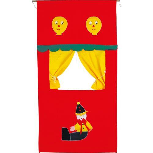 Teatro de títeres de tela - 80 x 2 x 135 cm