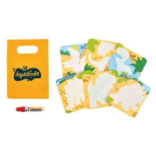 Mini Tarjetas Zoo & Dino de Aquadoodle