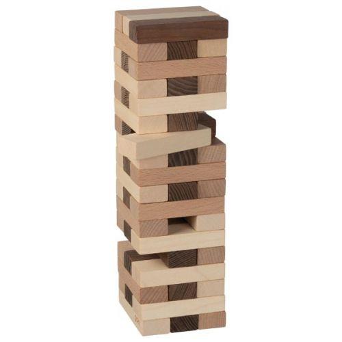 Torre de equilibrio Goki Nature, 51 piezas