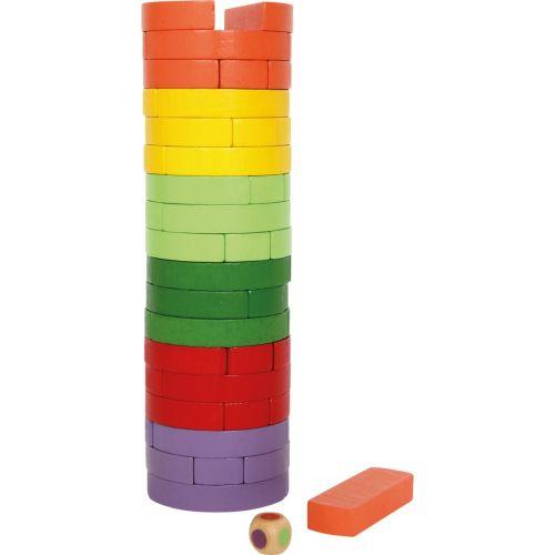 Torre de madera Redonda y colorida - Juguete infantil