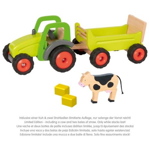 Tractor con remolque Goki