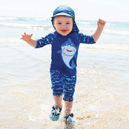Traje de protección Solar Tiburón - 2 piezas
