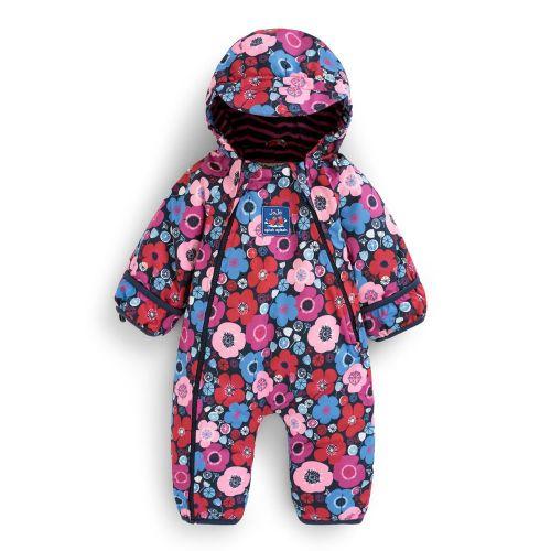Traje de Nieve para Bebés y Niña Estampado Floral