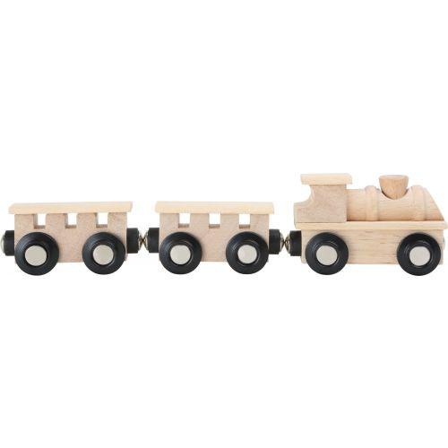 Tren de madera clásico en color natural - Legler
