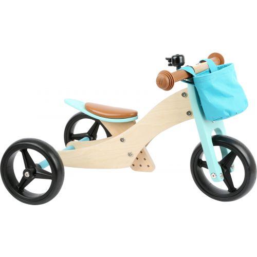 Triciclo de Madera Transformable en Bicicleta - a partir de 12 meses