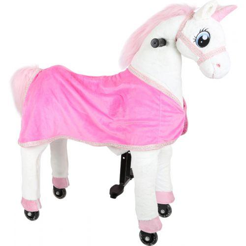 Unicornio con ruedas para montar - A partir de 5 años