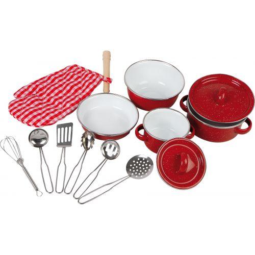 Utensilios de Cocina Rojos para Niños - 13 piezas