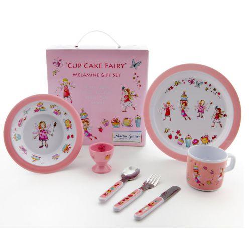 Vajilla 7 Piezas Bebé Cupcake